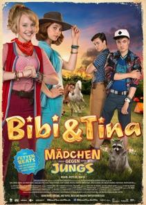 Plakat: BIBI & TINA 3 - MÄDCHEN GEGEN JUNGS