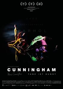 Plakat: CUNNINGHAM-3D mit fachlicher Einführung zum Film durch Michael Apel, Choreograph & Tanzpädagoge