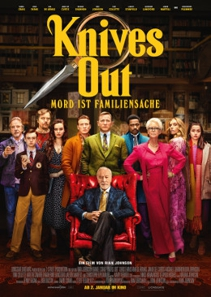 Plakat: KNIVES OUT - MORD IST FAMILIENSACHE