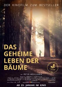 Plakat: DAS GEHEIME LEBEN DER BÄUME