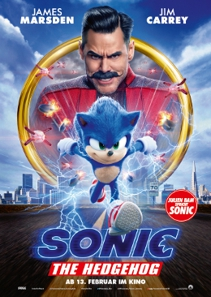 Plakat: Sonic the Hedgehog