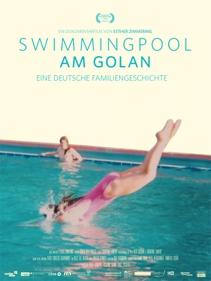 Plakat: Filmkunsttage:SWIMMINGPOOL AM GOLAN mit Regisseurin Esther Zimmering