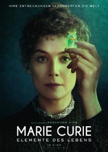 Plakat: Marie Curie - Elemente des Lebens