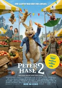 Plakat: Peter Hase 2 - Ein Hase macht sich vom Acker
