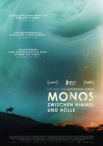 Plakat: Monos - zwischen Himmel und Hölle