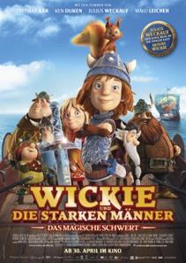 Plakat: Wickie und die starken Männer - Das magische Schwert