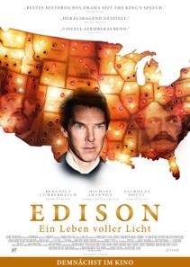 Plakat: Edison - Ein Leben voller Licht