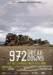 Plakat: 972 Breakdowns - Auf dem Landweg nach New York