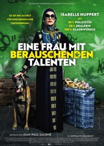 Plakat: Eine Frau mit berauschenden Talenten