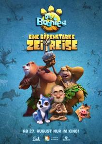 Plakat: Die Boonies - Eine bärenstarke Zeitreise
