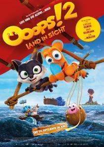 Plakat: Ooops! 2 - Land in Sicht