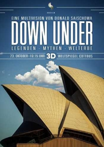 Plakat: DOWN UNDER: Legenden-Mythen-Welterbe (in 3D)