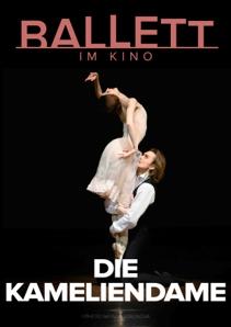 Plakat: BOLSCHOI BALLETT: DIE KAMELIENDAME 2020/21