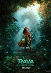 Plakat: Raya und der letzte Drache