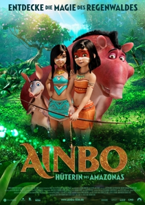 Plakat: Ainbo - Hüterin des Amazonas