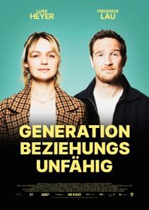 Plakat: Generation Beziehungsunfähig