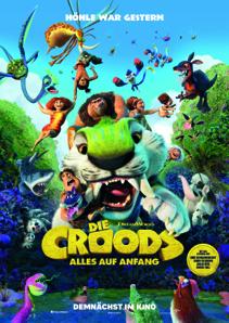 Plakat: Die Croods - Alles auf Anfang