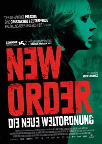Plakat: Filmkunsttage: NEW ORDER - DIE NEUE WELTORDNUNG