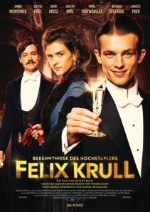 Plakat: Bekenntnisse des Hochstaplers Felix Krull