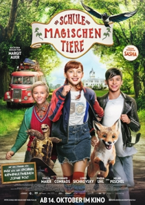 Plakat: Die Schule der magischen Tiere