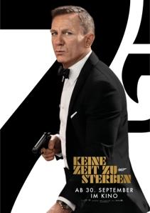 Plakat: James Bond 007 - Keine Zeit zu sterben